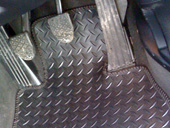 Touch and durable rubber mats available